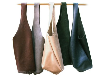 Leather Sack by Imelda Bags